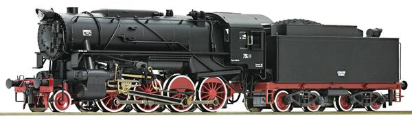 Roco 73044 - Italian Steam Locomotive Gruppo 736 of the FS