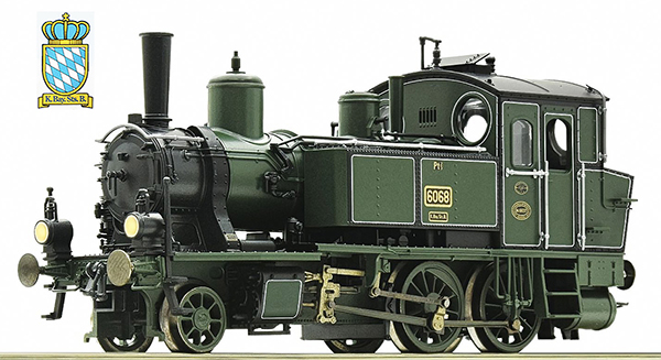 Roco 73053 - German Steam locomotive Type Pt 2/3 of the K.Bay.Sts.B. (DCC Sound Decoder)