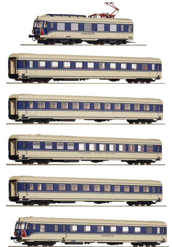 Roco 73056 - Austrian 6-part Electric Multiple Unit Class 4010 of the ÖBB
