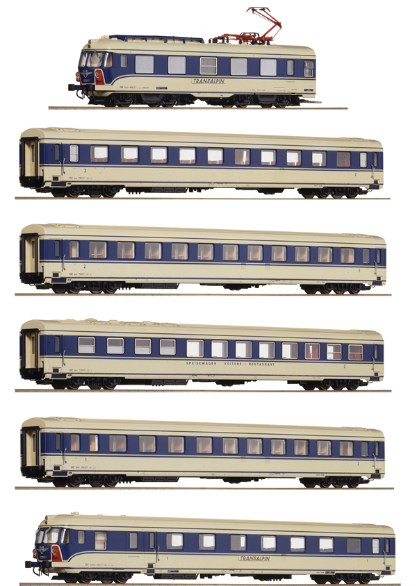 Roco 73057 - Austrian 6-part Electric Multiple Unit Class 4010 of the ÖBB (DCC Sound Decoder)