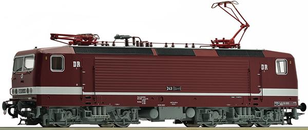 Roco 73062 - German Electric Locomotive 243 591-5 of the DR
