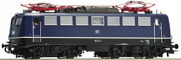 Roco 73074 - German Electric Locomotive Class 110.1 of the DB