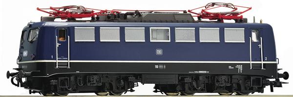 Roco 73075 - German Electric Locomotive Class 110.1 of the DB (DCC Sound Decoder)
