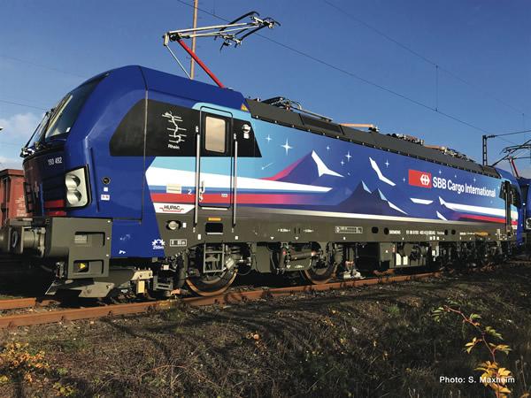 Roco 73117 - Swiss Electric locomotive Re 193 of the Hupac/SBB (DCC Sound Decoder)