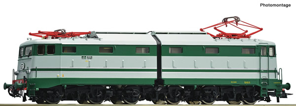 Roco 73165 - Italian Electric locomotive E.646.043 of the FS (DCC Sound Decoder)