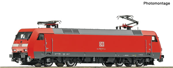 Roco 73167 - German Electric locomotive class 152 of the DB AG (DCC Sound Decoder)