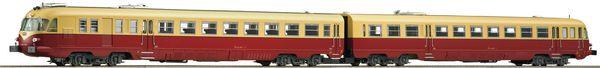Roco 73176 - Italian Diesel Railcar Class ALn 448/460 of the FS