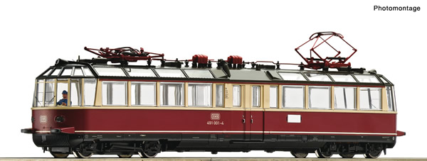 Roco 73197 - German Electric railcar 491 001-4 of the DB
