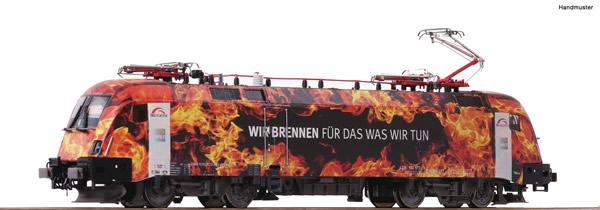 Roco 73229 - German Electric locomotive 182 572-8 of the TX-Logistik (DCC Sound Decoder)