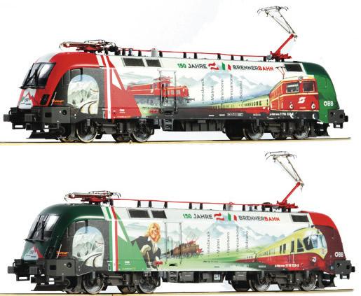 Roco 73240 - Austrian Electric Locomotive 1116 159 Burner of the OBB (DCC Sound Decoder)