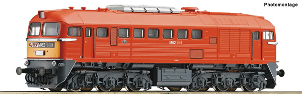 Roco 73243 - Hungarian Diesel locomotive M62 of the Gysev