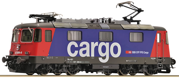 Roco 73257 - Swiss Electric Locomotive Re 421 of the SBB Cargo (Sound)