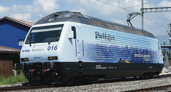 """Roco 73269 - Swiss Electric locomotive Re 465 016 """"Stockhorn"""" of the BLS (DCC Sound Decoder)"""