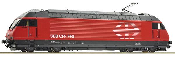 Roco 73286 - Swiss Electric locomotive Re 460 of the SBB (DCC Sound Decoder)