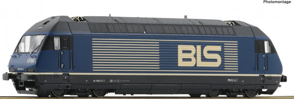 Roco 73288 - Electric locomotive Re 465, BLS