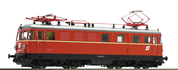 Roco 73295 - Austrian Electric Locomotive Class 1046 002 of the OBB (Sound)