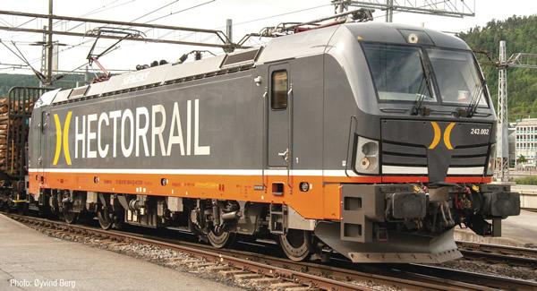 Roco 73311 - Swedish Electric locomotive 243-002 of the Hectorrail (DCC Sound Decoder)