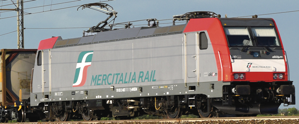 Roco 73341 - Italian Electric Locomotive E.483 Mercitalia of the FS (DCC Sound Decoder)