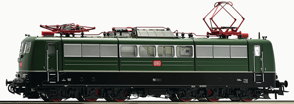 Roco 73365 - German Electric Locomotive Class 151 of the DB (DCC Sound Decoder)