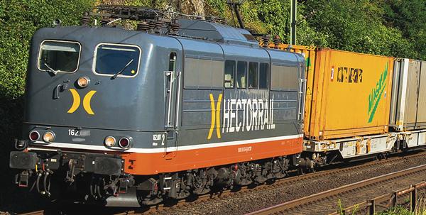 Roco 73367 - Electric Locomotive Class 162, Hectorrail (DCC Sound Decoder)