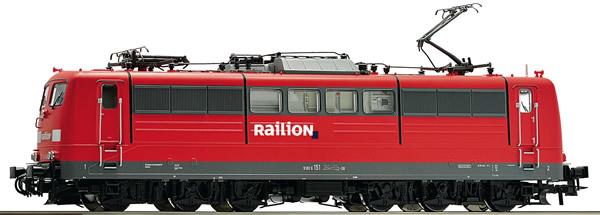 Roco 73368 - German Electric Locomotive Class 151 of the DB AG
