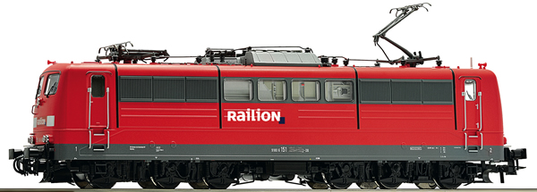 Roco 73369 - German Electric Locomotive Class 151 of the DB AG (DCC Sound Decoder)