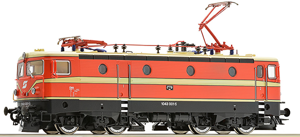 Roco 73391 - Austrian Electric Locomotive 1043.001-5 of the ÖBB (DCC Sound Decoder)