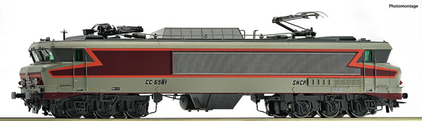 Roco 73399 - French Electric locomotive class CC 6514 of the SNCF (DCC Sound Decoder)
