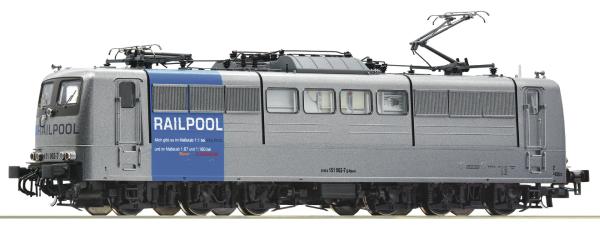 Roco 73406 - German Electric Locomotive Class 151, Railpool