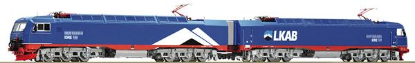 Roco 73459 - Swedish Electric Double Locomotive IORE of the LKAB (DCC Sound Decoder)
