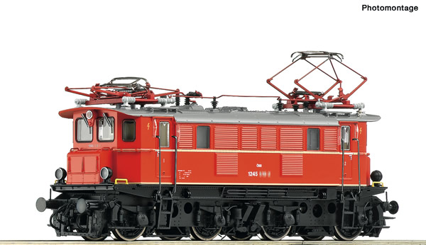 Roco 73465 - Austrian Electric locomotive class 1245 of the ÖBB (DCC Sound Decoder)