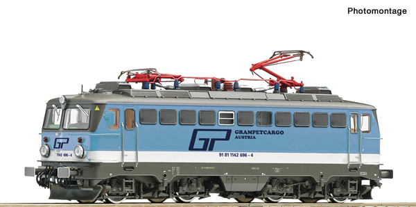 Roco 73479 - Austrian Electric locomotive 1142 696-4 (DCC Sound Decoder)
