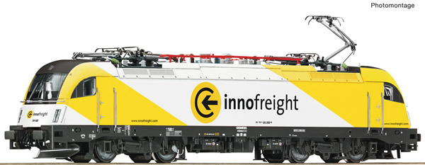 "Roco 73487 - Slovakian Electric locomotive 541 002-6 ""Innofreight"" (DCC Sound Decoder)"