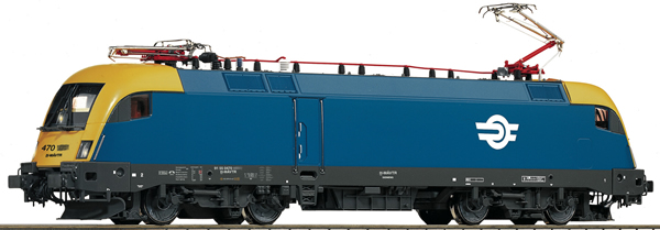 Roco 73523 - Hungary Electric Locomotive Class 470 of the MAV (DCC Sound Decoder)