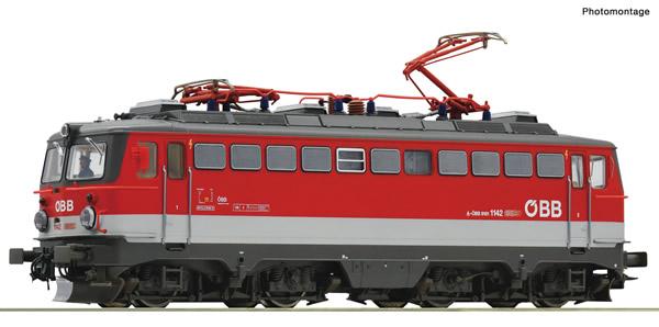 Roco 73611 - Austrian Electric locomotive 1142 683-2 of the OBB (DCC Sound Decoder)