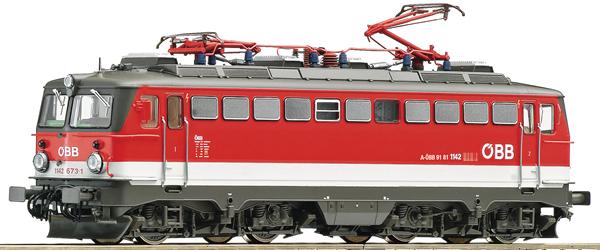 Roco 73614 - Austrian Electric Locomotive Class 1142 of the ÖBB
