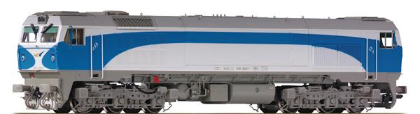 Roco 73693 - Spanish Diesel Locomotive 319 of the RENFE (Sound)