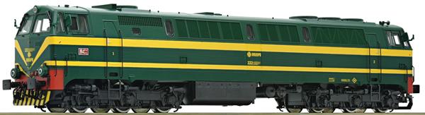 Roco 73703 - Belgian Diesel Locomotive Series 333 of the RENFE (DCC Sound Decoder)