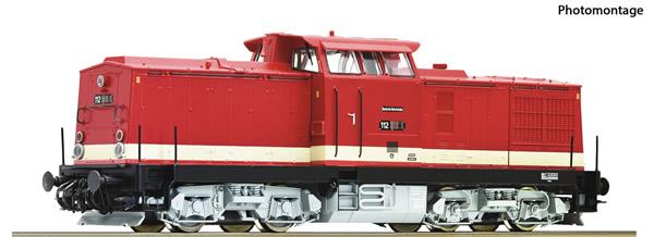 Roco 73759 - German Diesel locomotive class 112 of the DR