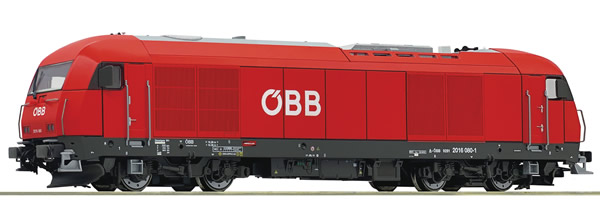 Roco 73766 - Austrian Diesel locomotive 2016 080-1 of the OBB (DCC Sound Decoder)