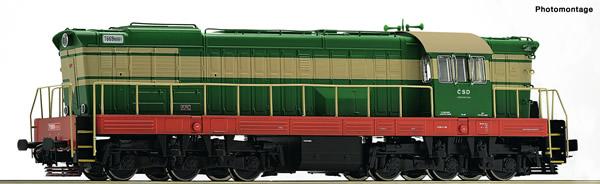 Roco 73775 - Czechoslovakian Diesel locomotive T669.0 of the CSD (DCC Sound Decoder)