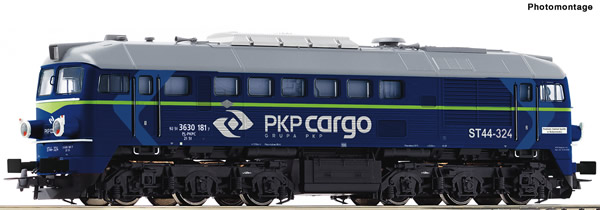 Roco 73779 - Polish Diesel locomotive ST44 of the PKP Cargo (DCC Sound Decoder)