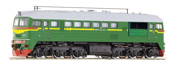 Roco 73791 - Russian Diesel Locomotive M62 of the SZD (Sound)