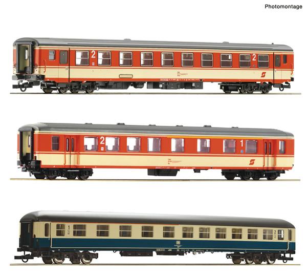 "Roco 74051 - 3 piece passenger set 1: Express train ""E 712"""