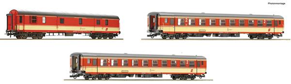 "Roco 74052 - 3 piece passenger set 1: Express train ""E 712"""