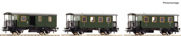 Roco 74054 - 3 piece passenger set: Local train