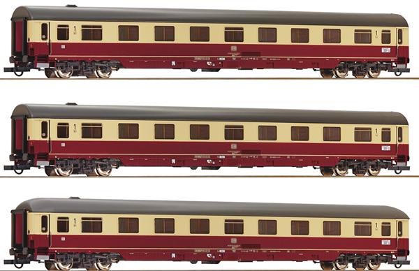 Roco 74095 - 3 piece Passenger Set 1: Christo forus-Express, DB