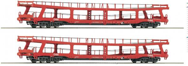 Roco 74128 - 2 piece set Stand-in deck coach carrier, ÖBB