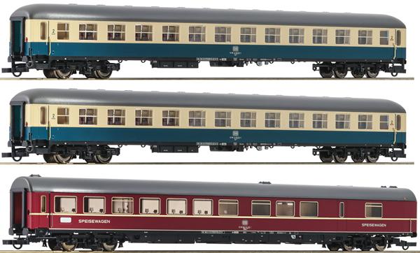Roco 74181 - 3 piece Passenger Set D 229 Johann Strauß (Set1)