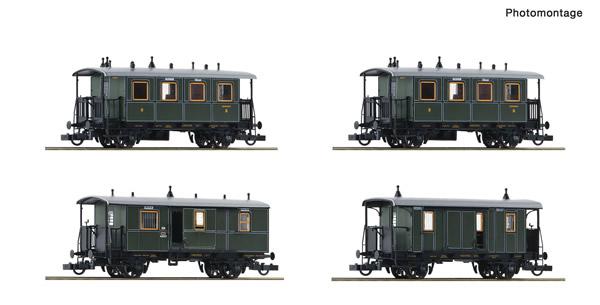 Roco 74187 - 4 piece passenger set: Local train
